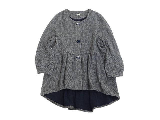 【BOEMEレディス】Lサイズ☆今年の秋は優しい素材のパフスリーブジャケット70%OFF再値下げ☆彡