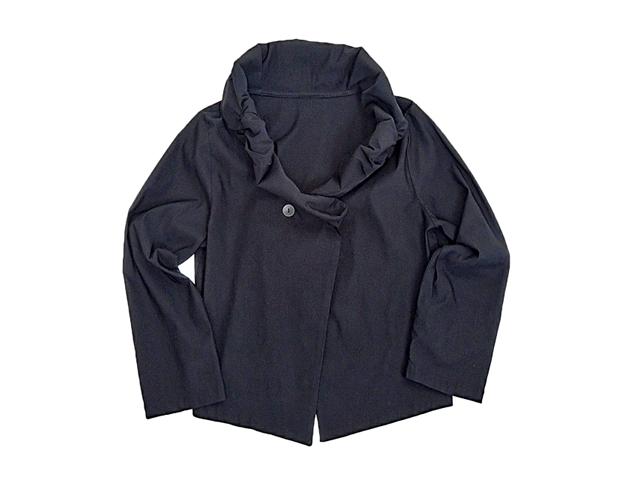 【FADレディース】Mサイズ☆ストレッチ抜群のAラインシルエットジャケット♪30%OFF