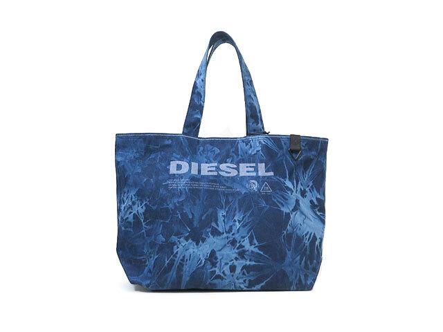 【DIESEL】メンズ&レディース◇ONEサイズ◇オシャレ度UPに使えるトートバッグ☆彡立体的な色抜きがたまらない☆彡25%OFF