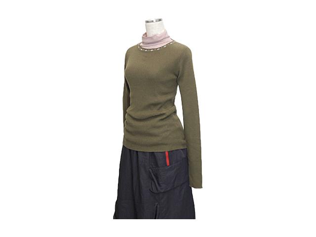 【ジルボーレディース】Mサイズ☆これから春先も着て下さい♪リブ伸び最高のニット♪50%OFF