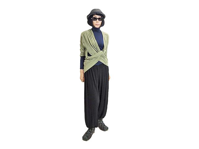 【FADselect】レディース&メンズ◇クールでオシャレなプリーツジョガーパンツ☆これは綺麗で楽ですね☆彡30%OFF再入荷(6/17)