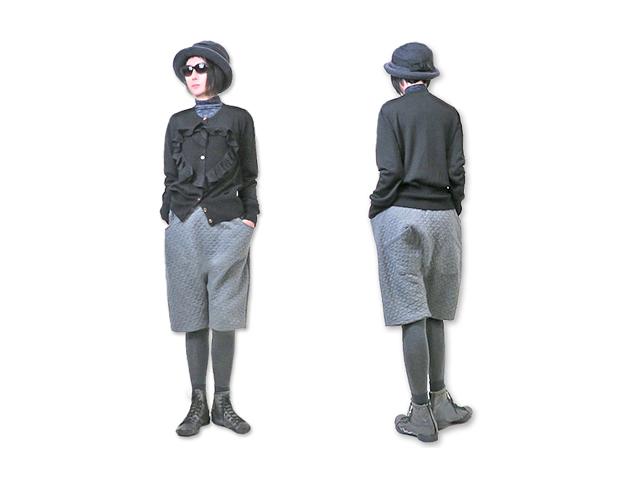 【ヴィヴィアン ウエストウッド】レディ-ス◇03(L)サイズ☆ブラックニットカーデガン☆立体的デザインが大人の可愛さを演出☆彡20%OFF