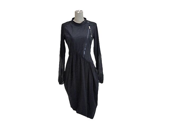 【HIGHレディス】42(M)サイズ イタリア製☆この一着で完結♪羽織一つで変身☆40%FF