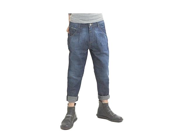 【ジルボー】レディース&メンズ SS、S、Lサイズ☆サイズは大き目ゆる~く穿く☆彡女性も男性も使って欲しい 綿x麻デニム☆60%OFF♪