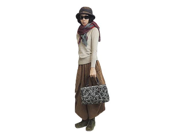 【FADレディース】日本製のいい仕事♪秋のお出かけバッグに活用して下さい30%OFF