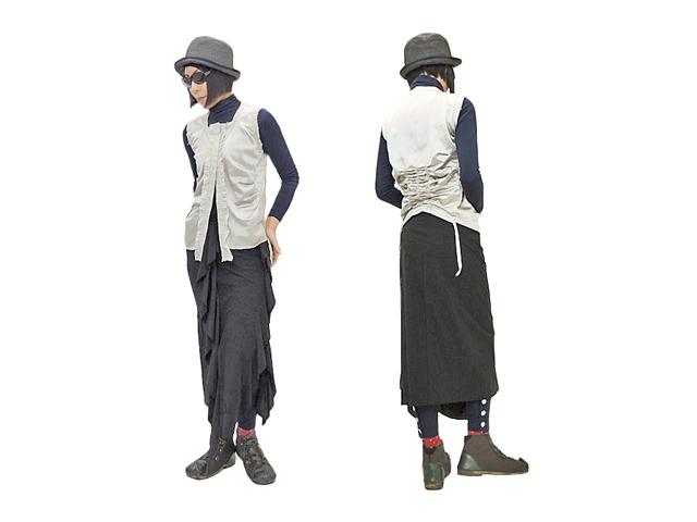 【ジルボー】レディース◇40サイズフランス製☆日本のSS~Sサイズ☆これがコレクションジルボーラインス☆彡ストレッチ&ドレープが素晴らしいロングスカート☆40%OFF☆彡