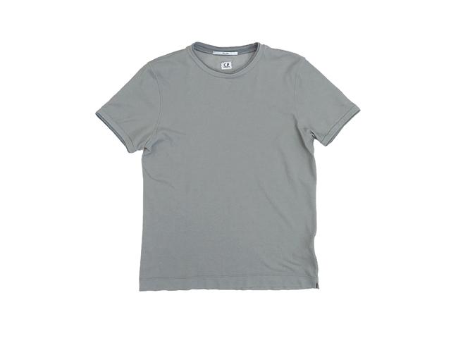 【C.P.COMPANY】メンズ◇Mサイズ☆きめ細かな鹿の子素材のレイヤードTシャツ☆彡60%OFF