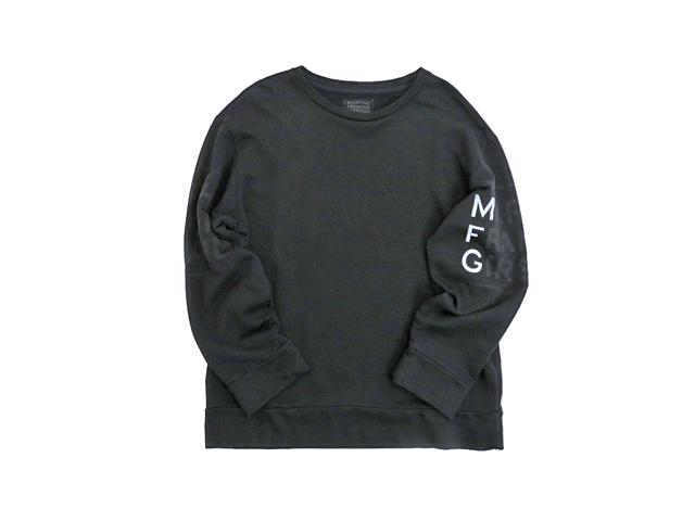 【ジルボー】メンズXL☆少しゆるいLサイズ黒トレーナー☆彡◇現行最終モデルのグレーxブラックプリント☆彡リバーシブルもありでね☆30%OFF
