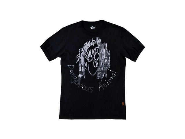 【ヴィヴィアン ウエストウッド 】メンズ&レディース◇☆アートなフェイスプリントが効くブラックTシャツ☆彡☆彡