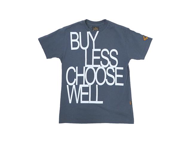 【Vivienne Westwood Anglomania】メンズS(M~L)サイズ☆半袖後染めTシャツ☆大人のメッセージ?☆20%off