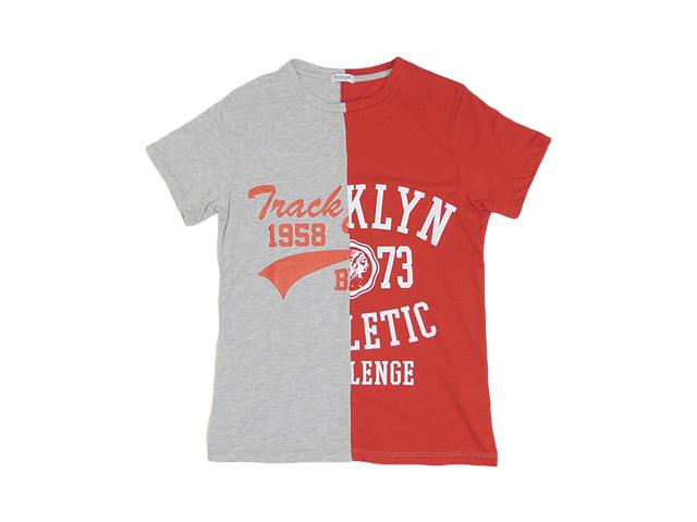 【X-CAPE】メンズ&レディース◇S/Mサイズ☆日本のジャストなSサイズ☆遊び心がたまらないニコイチTシャツ彡35%OFF