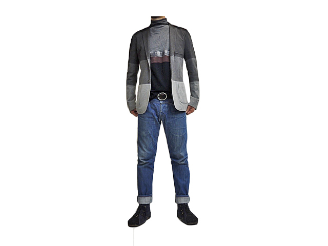 【BIKKEMBERGS】メンズ◇46(M)サイズ◆大人が羽るグラデーションジャケット☆彡50%OFF