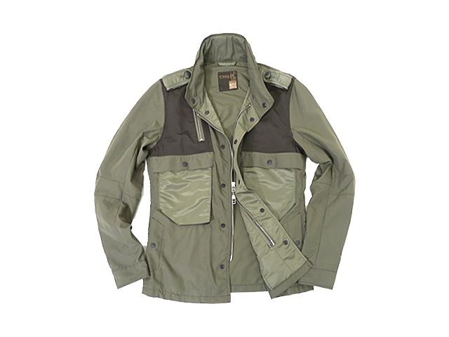 【ジルボー】メンズ (M)サイズ☆ジルボーのミリタリージャケット☆カーキを上品に使いこなす50%OFF