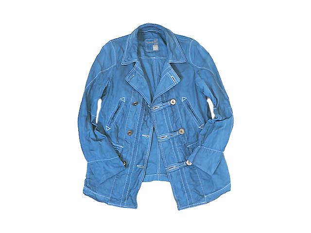 【ジルボー】メンズ Mサイズ☆ムラ染め春夏Pジャケット登場☆爽やかな中にムラ感がいい出来です☆40%OFF