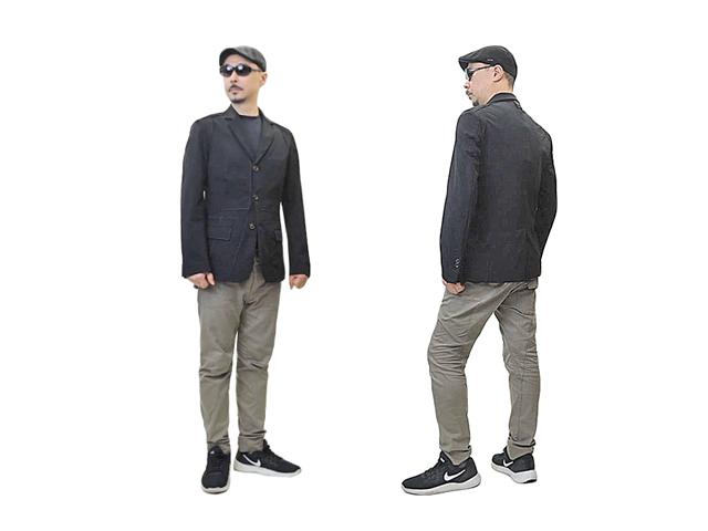 【HIGH】メンズ◇イタリア50☆日本のL~LLサイズ♪ストレッチの効いた上品なジャケットが50%OFF