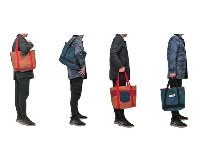 【GCL】メンズ&レディース◇ジルボー新品デニムをリバーシブルトートバッグにカスタマイズ☆彡