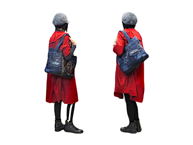【GCL】メンズ&レディース◇ジルボー新品デニムをトートにカスタマイズ☆彡想像力アップ☆彡