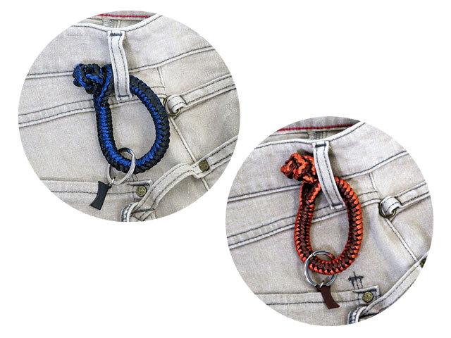 【CAMPER】メンズ&レディスONEサイズ◇クールな編込みロープチャーム 2色で登場☆彡ウエストやバッグに付けて下さい☆20%OFF