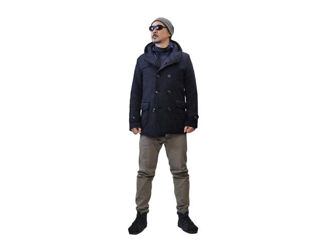 【X-CAPE】メンズ◇ストレッチウールがジャスト感あるM、Lサイズを生み出す☆彡ウールダッフル35%OFF