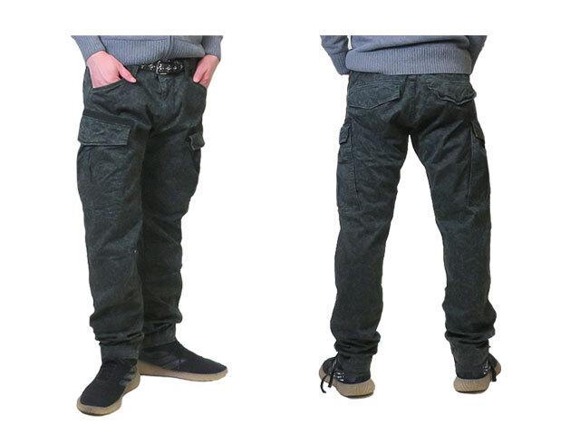 【G-Star RAW】メンズ34インチ(LL)サイズ☆大人の迷彩3D裁断パンツ☆斜めカットのサイドポケットがいいね☆彡20OFF