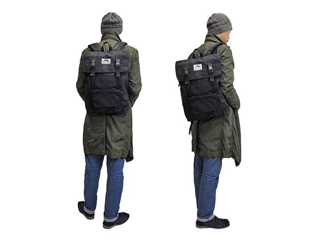 【Reel】メンズ&レディース◇長方形 バッグパック トレンドと利便性がポイント リュック デイバッグ