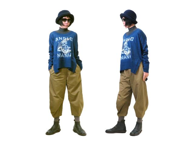 【Vivienne Westwood】レディ-ス◇38(ONE)サイズ☆春一番のプリント3Dデザインコットンニット☆優しい肌触りのコットン素材で春を先取り☆彡20%OFF