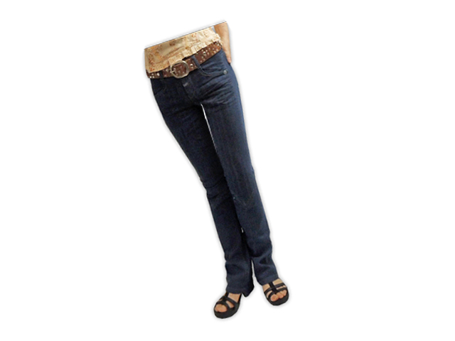 【ジルボーレディース】 3S、SSサイズ  本当に穿きやすいデニム!美脚効果◎