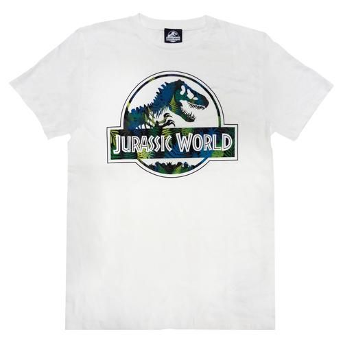 「ジュラシック・ワールド」Tシャツ ホワイトMサイズ
