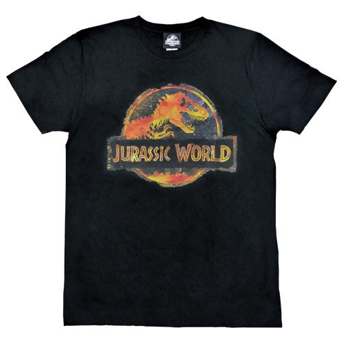 「ジュラシック・ワールド」Tシャツ ブラックMサイズ