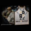 「ハリー・ポッター」予言新聞 看板