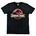 「ジュラシック・パーク」Tシャツ ブラックMサイズ