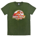 「ジュラシック・ワールド」Tシャツ アーミーグリーンMサイズ