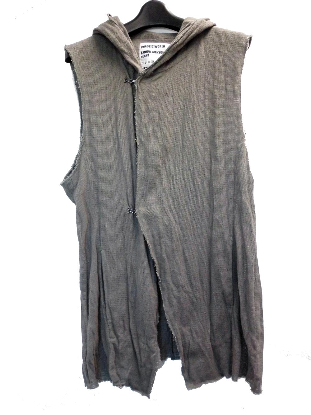Cotton,Linen Vest*2色