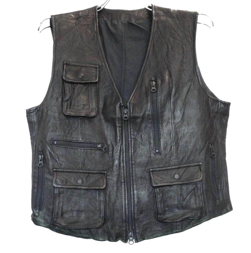 Lamb Leather Vest ラムレザーベスト