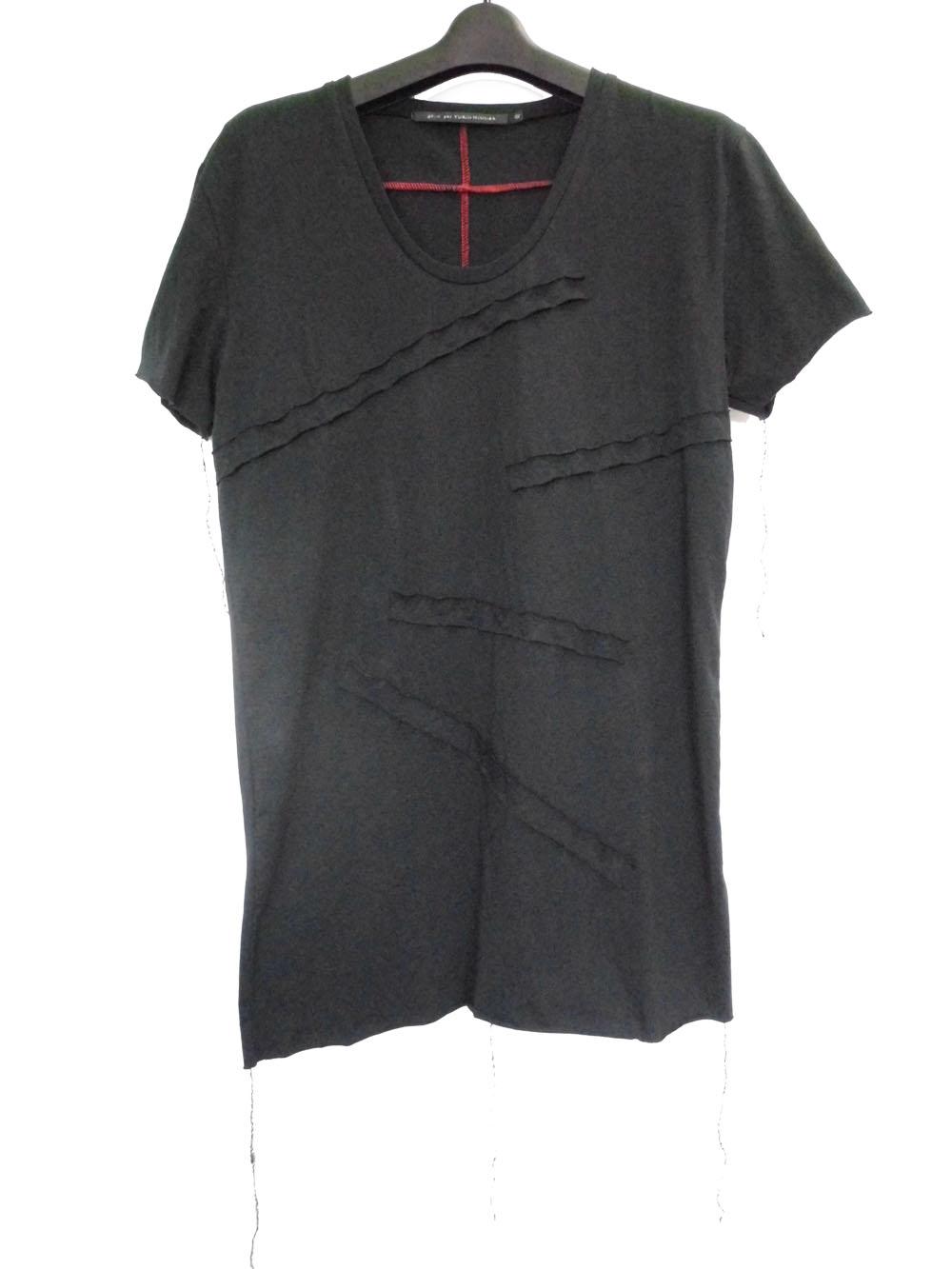 Cotton U-neck T-shirt