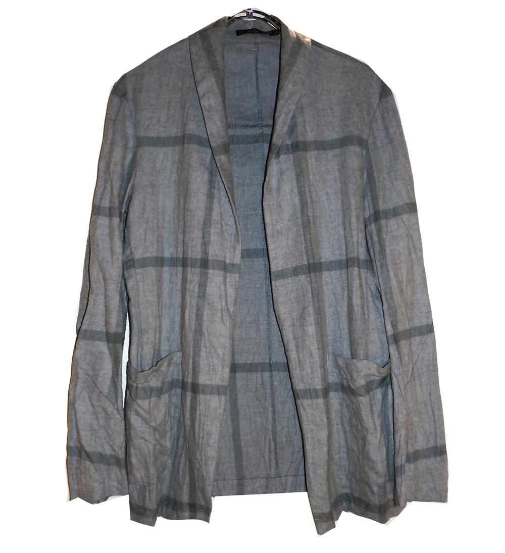 Cotton Check Shirt Jacket