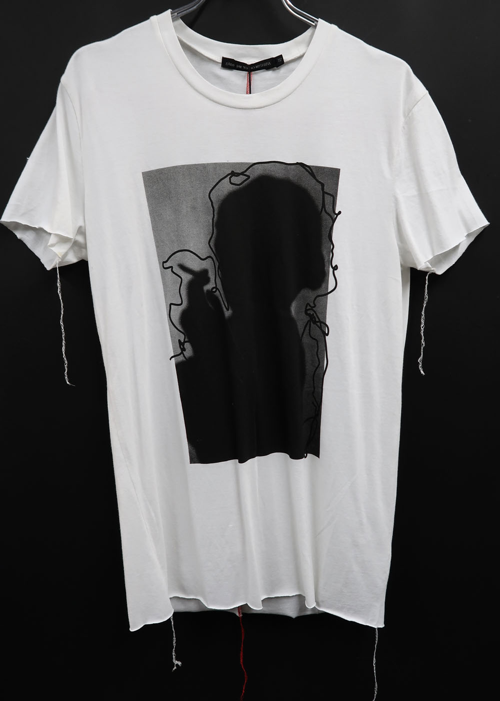 Cotton,Rayon Round T-shirt