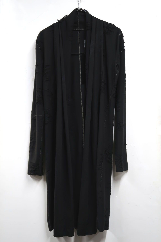Polyester,Cotton Cut&Sew Long Cardigan