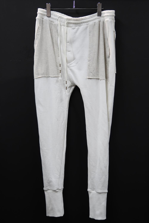 Cotton Fleece-pile Sweat Pants *2色