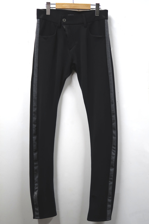Polyesyer Twill-weave Jersey Pants
