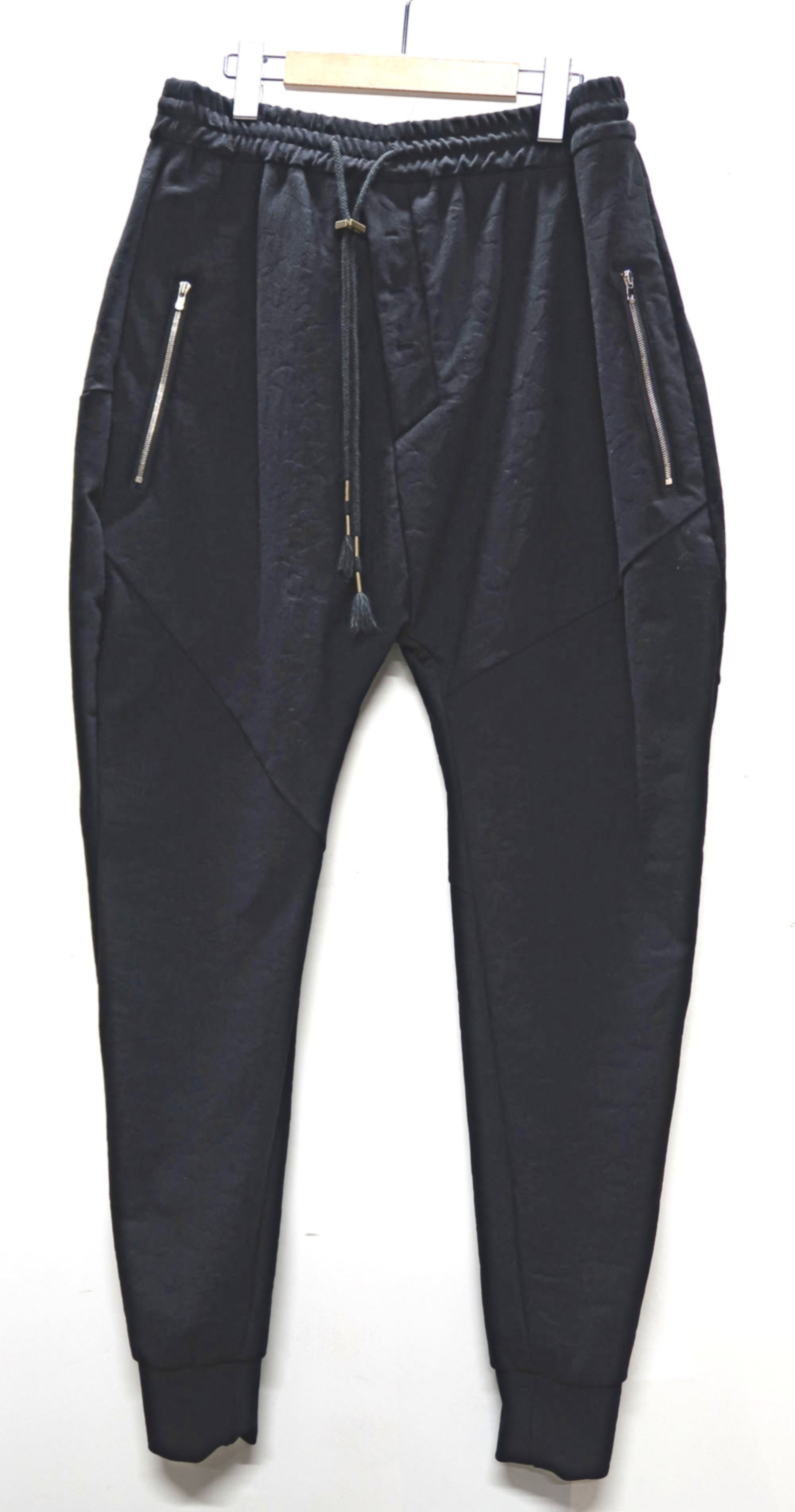 High Stretch Jacquard Punch Material Pants
