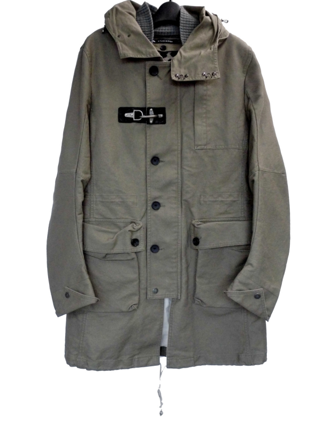 Cotton Military Coat
