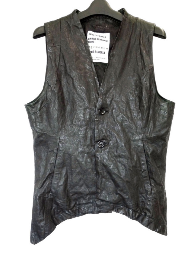 Lamb Leather Vest