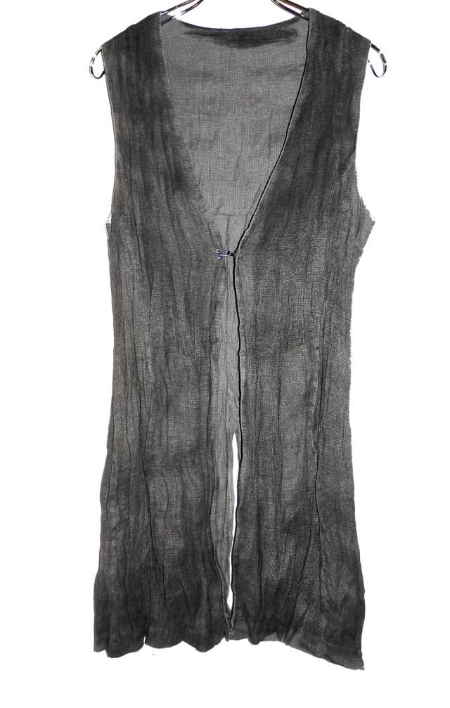 Cotton,Linen  Vest