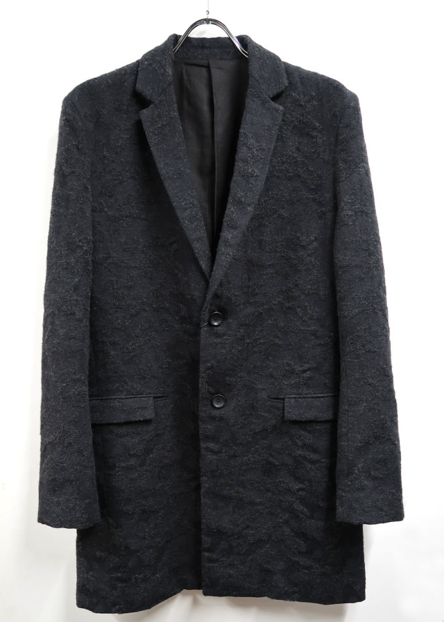 Wool,Cotton,Polyester Chesterfield Coat