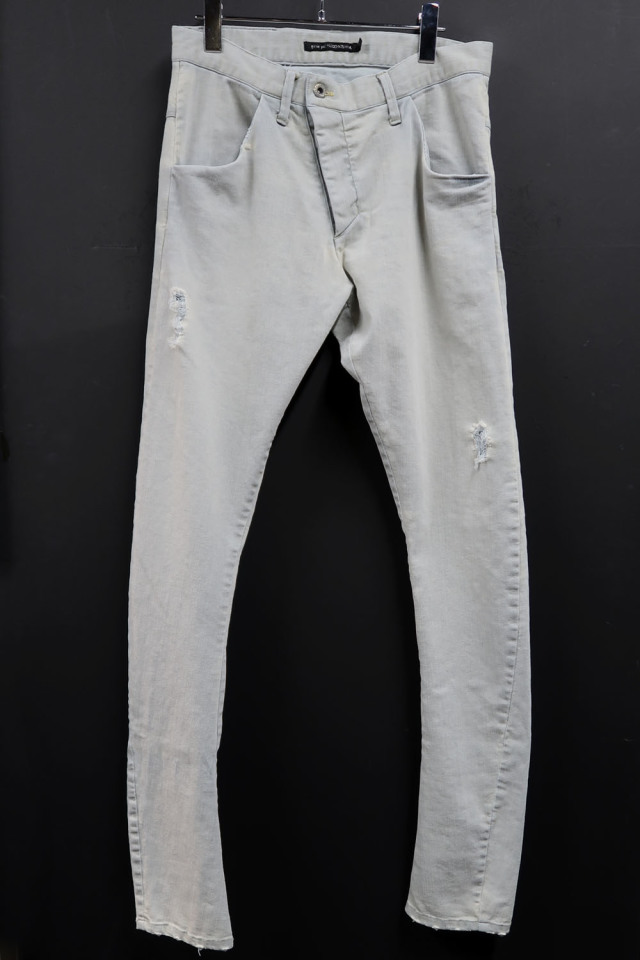 Cotton,Polyester,Pu Indigo Denim  Pants
