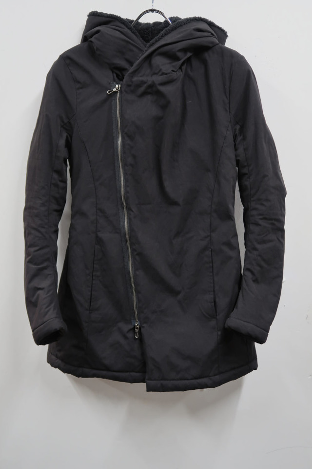 Cotton,Polyester,Nylon Hooded Blouson