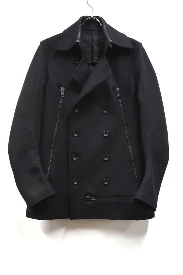 Wool,Polyester Pea Coat