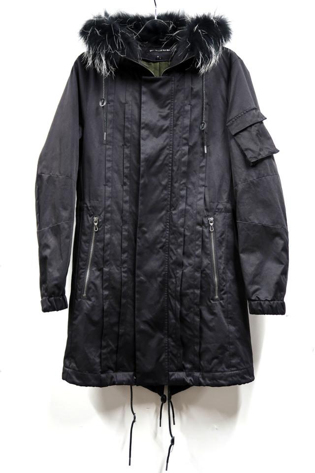 Cotton,Polyester,Nylon Military Coat