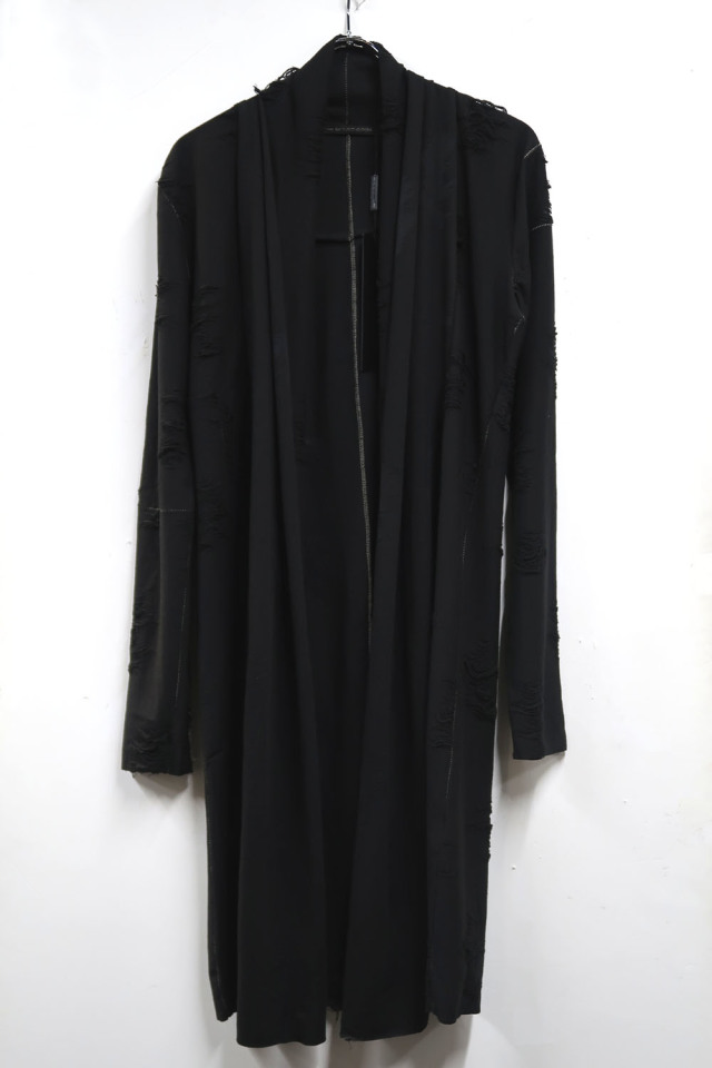 Polyester,Cotton Cut&Sew Long Cardigan